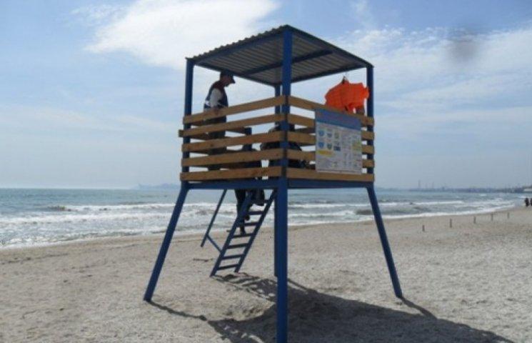 До нового курортного сезону одеське узбережжя облаштують 23 рятувальними постами