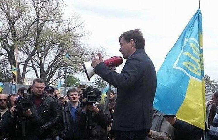 Боровик заявив, що буде створена комісія, яка буде розслідувати побиття людей перед мерією