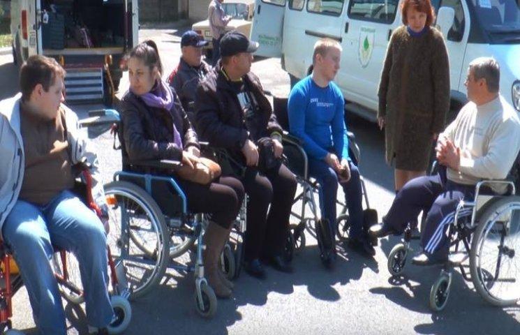 """Інваліди – калясочники з Хмельницького вперше відпочиватимуть у """"Березі надії"""""""