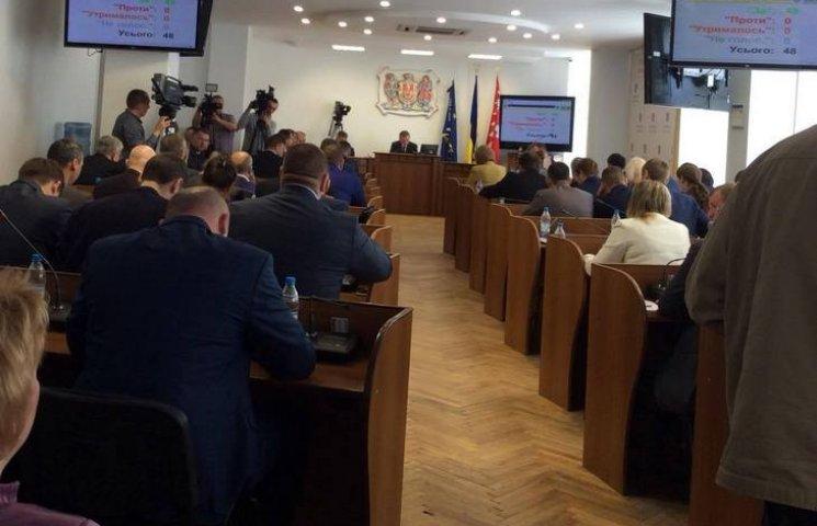 У Вінниці розпочалась сесія міської ради