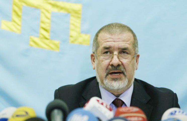 Чубаров відреагував на заборону кримського прапору на Євробаченні