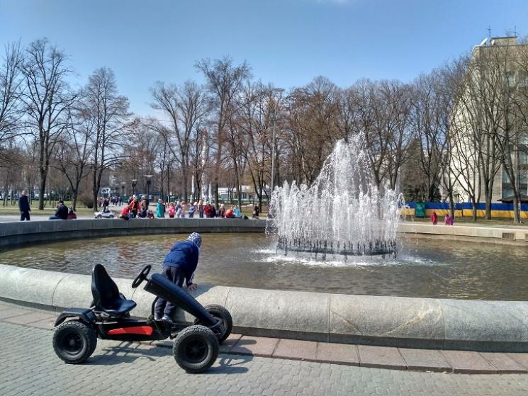 У Дніпрі запустили фонтани…