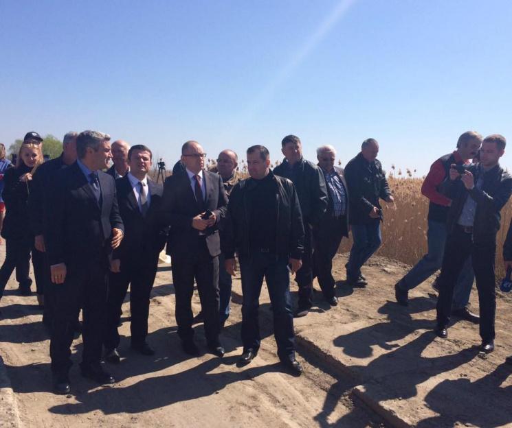 Одесская область согласилась сМолдовой остроительстве временной объездной дороги