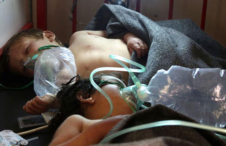 Сирийский защитник прав человека заподозрил ВКС Российской Федерации вхимической атаке наИдлиб