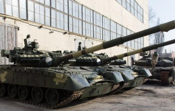 «Укроборонпром» протестировал танки Т-64 перед отправкой взону АТО