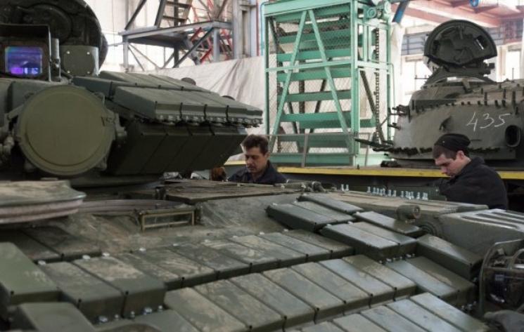 «Укроборонпром» продемонстрировал обновленные танки для ВСУ