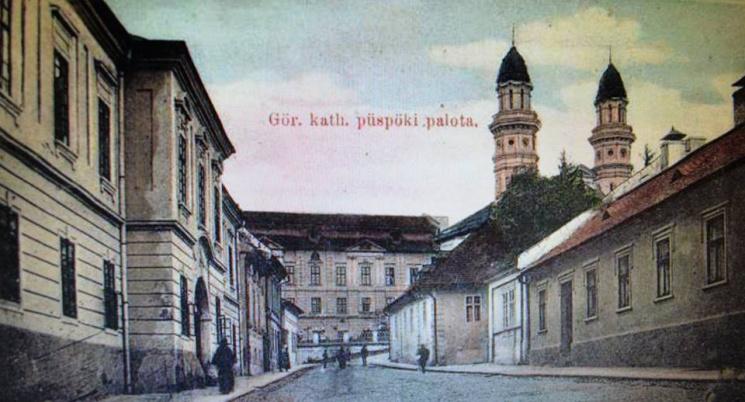 Унікальні світлини: Кафедральний собор у центрі Ужгорода понад 115 років тому