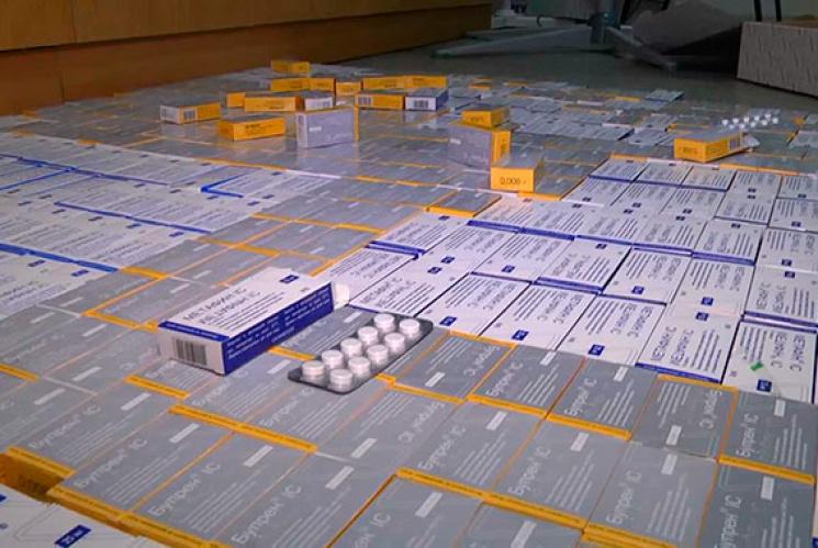 В одесской клинике нашли наркотиков на 4,5 млн грн