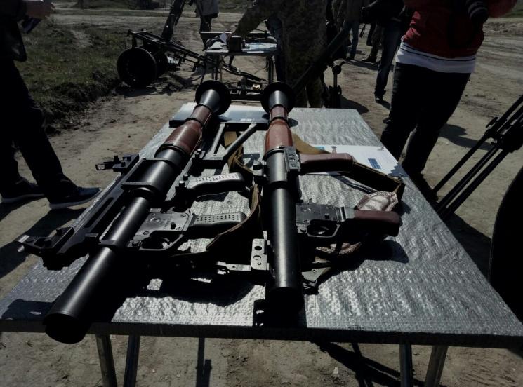 Украинский завод представил новый гранатомет РПГ-М7