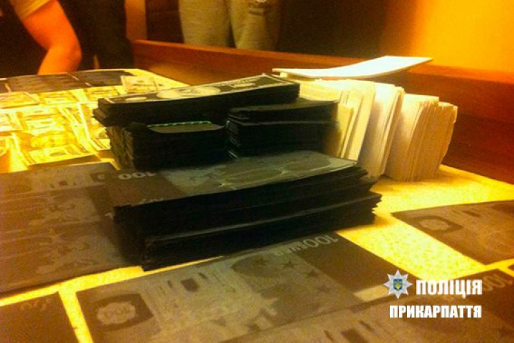 2-х иностранцев-фальшивомонетчиков задержали вПрикарпатье