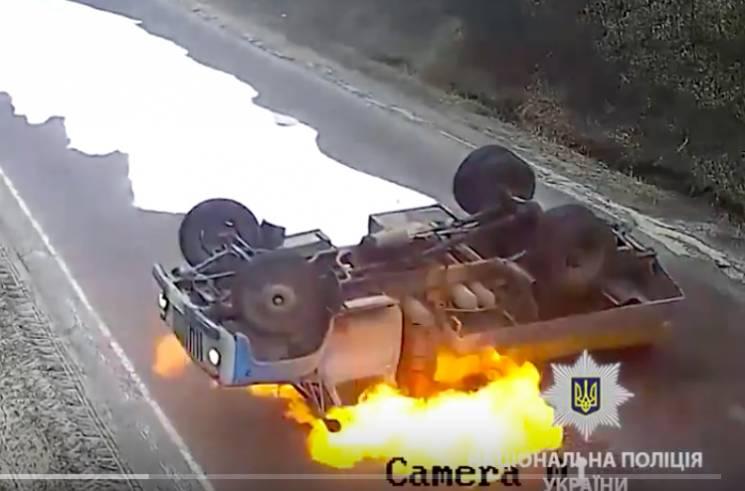 Ужасный экшн на Тернопольщине: По дороге…