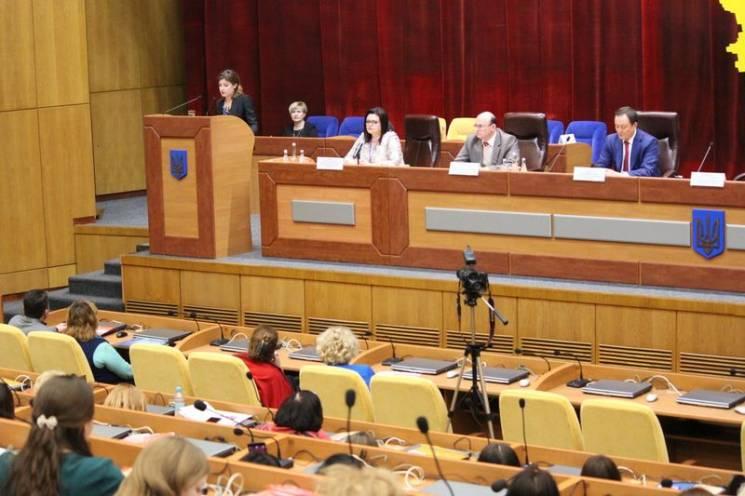 Марина Порошенко відкрила у Запоріжжі конференцію з розвитку інклюзивної освіти (ФОТО)