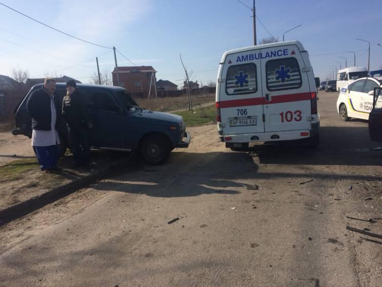 У Запоріжжі автівка з журналістами потрапила в ДТП. Є постраждалі (ФОТО)