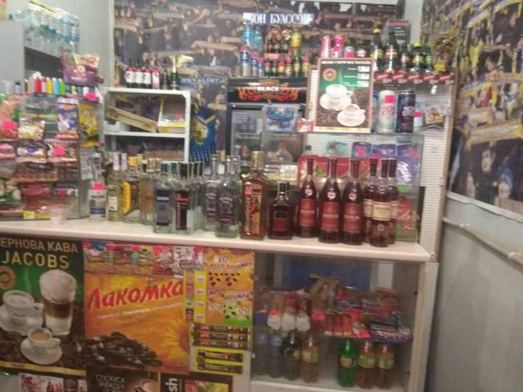 В Харькове из наливаек изъяли 88 бутылок алкоголя (ФОТО)