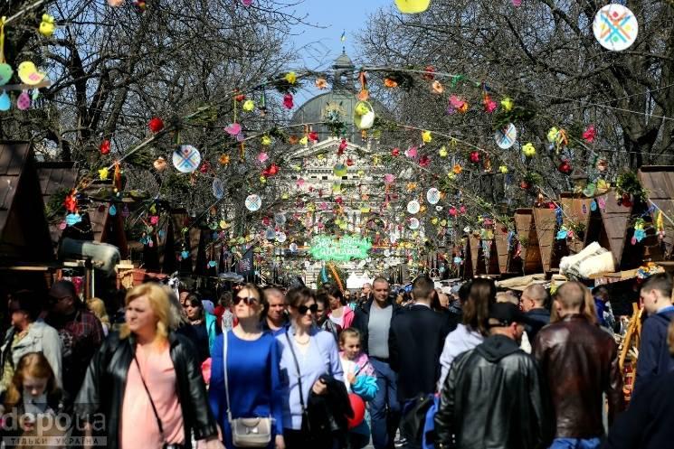 Як святкували Великдень у Львові (ФОТОРЕ…