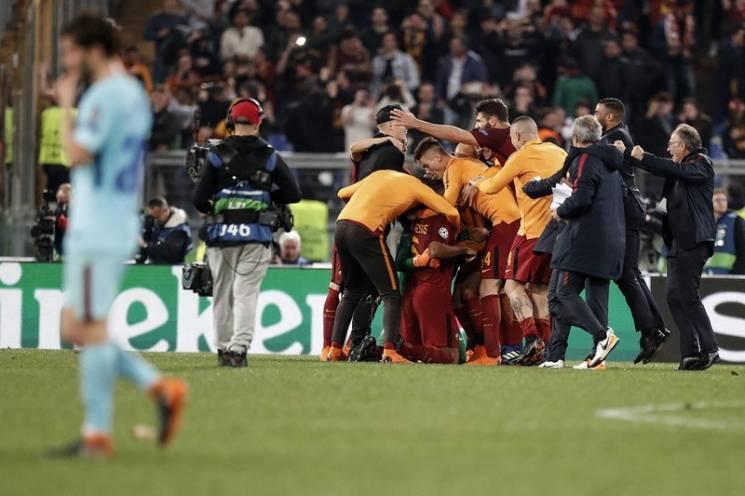 """Найяскравіші фото з ганебної поразки """"Барселони"""" в чвертьфіналі Ліги чемпіонів"""
