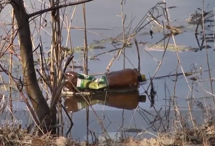 Як сумчани закидають сміттям довкілля після свят