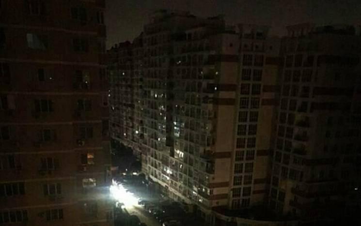 Мешканців Краснодара залишили без світла