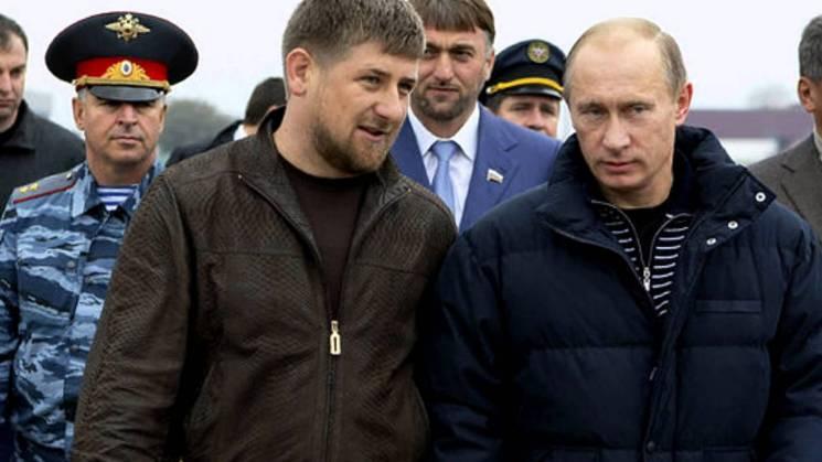"""Кадиров поблагав Путіна бути """"вічним президентом"""""""
