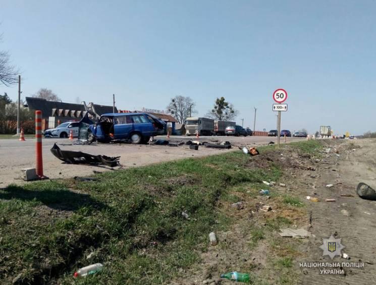 На Полтавщині внаслідок ДТП загинула жінка