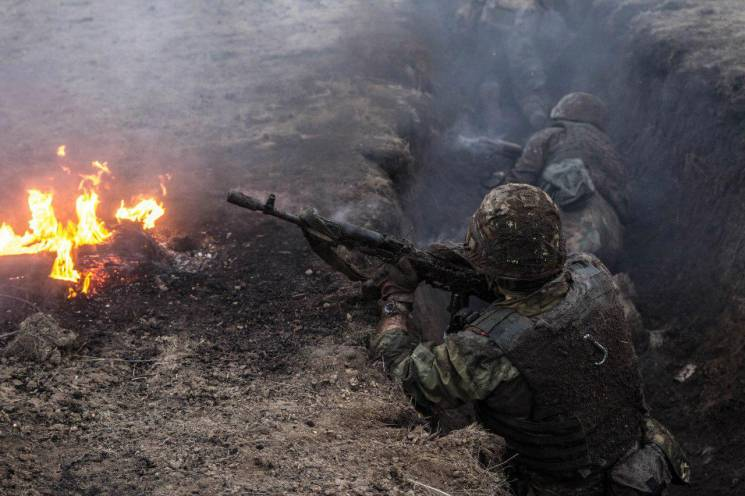 Вихідні на Донбасі: Пекло по всіх напрямках, крім Луганщини (КАРТА)
