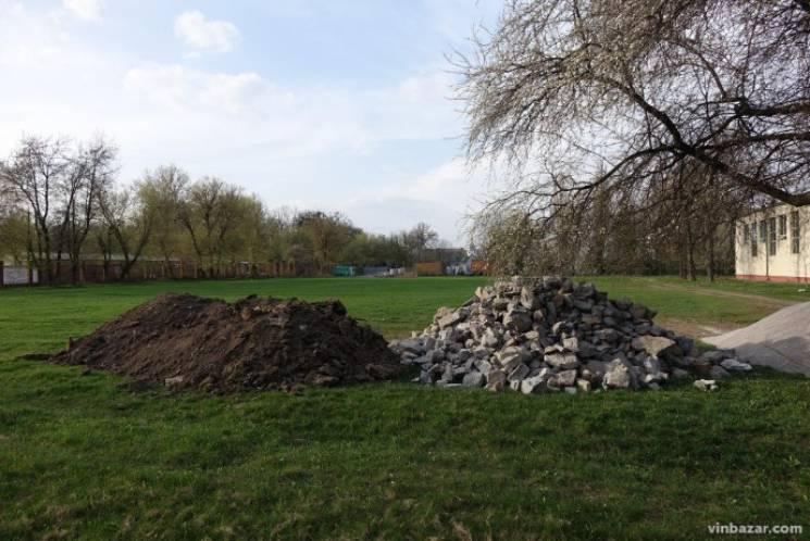 У Вінниці з'явиться ще одне сучасне футбольне поле