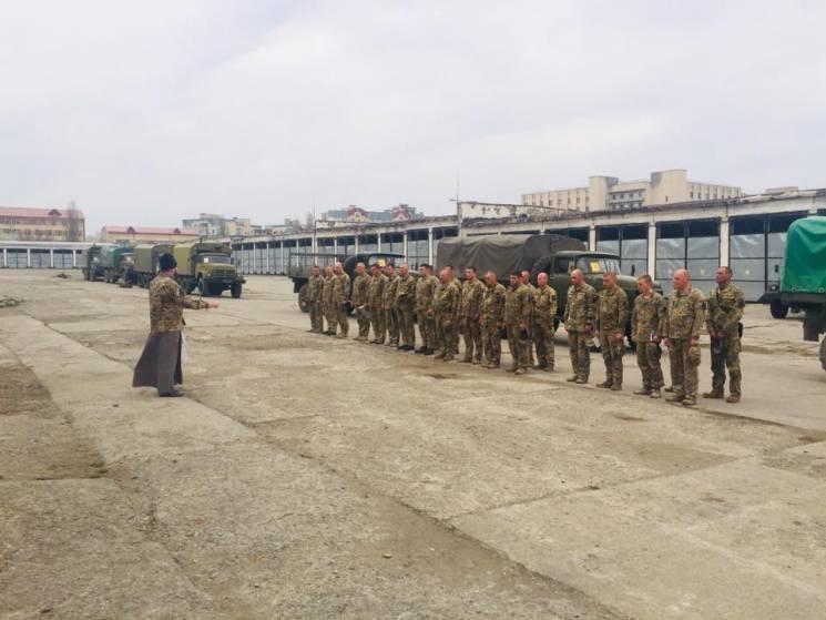 На передову відправилися кам'янецькі вояки (ФОТО)