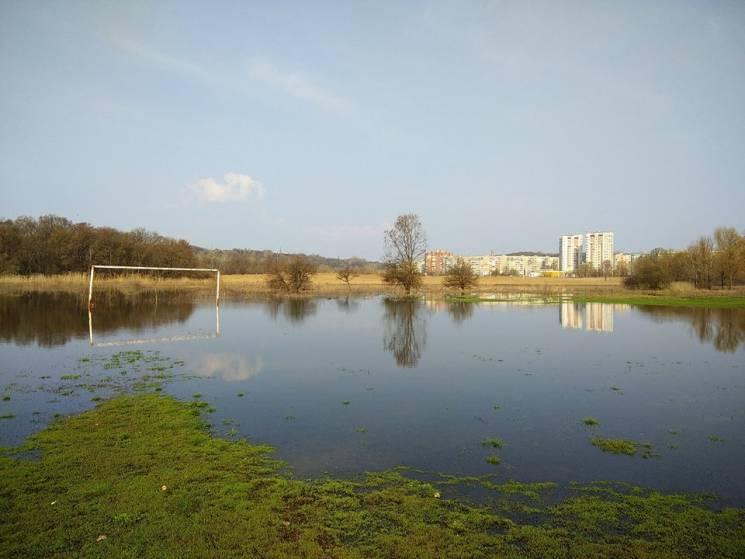 У річках Полтавщини триває підвищення рівня води