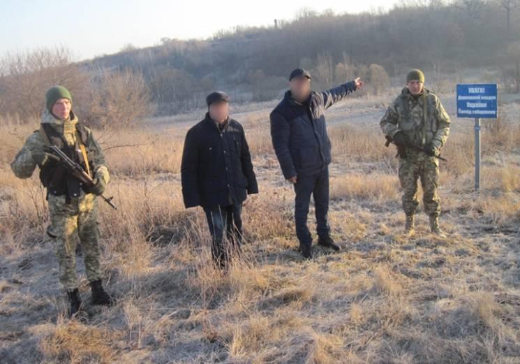 Прикордонники Сумського загону затримали при перетині кордону двох азербайджанців