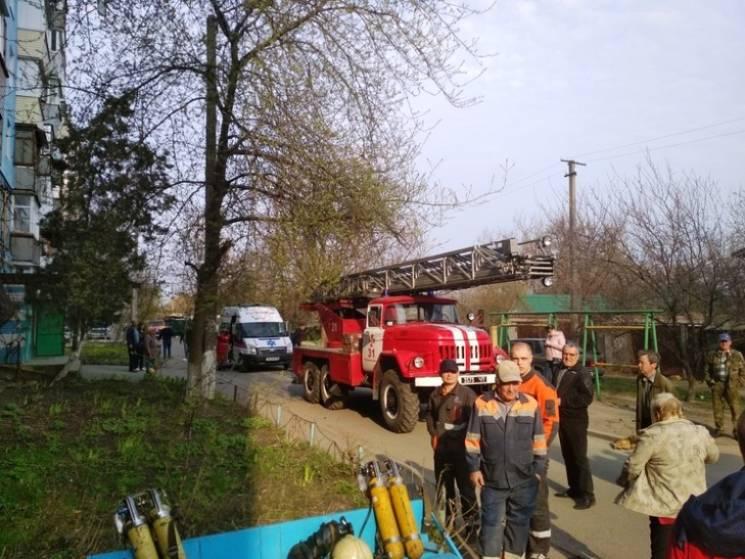 У Новомосковську на пожежі постраждала дитина
