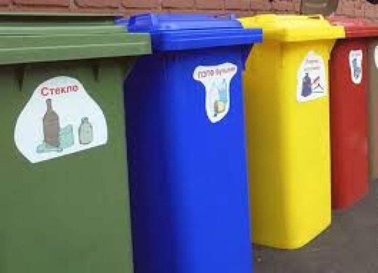 В Одесі сміттєві контейнери стануть кольоровими
