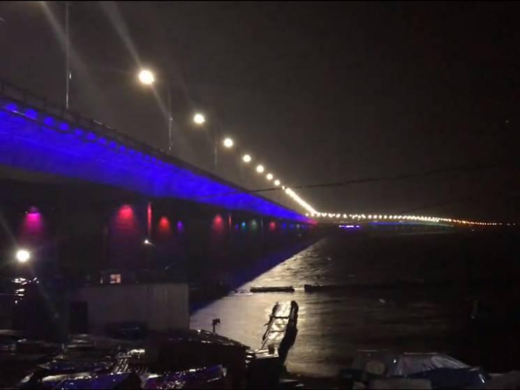 """У Павлограді обіцяють """"переплюнути"""" підсвітку Кайдацького мосту у Дніпрі"""