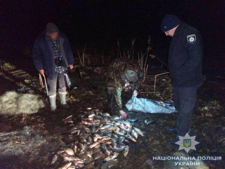 На Сумщині браконьєри незаконно виловили більше 100 кг риби (ФОТО)