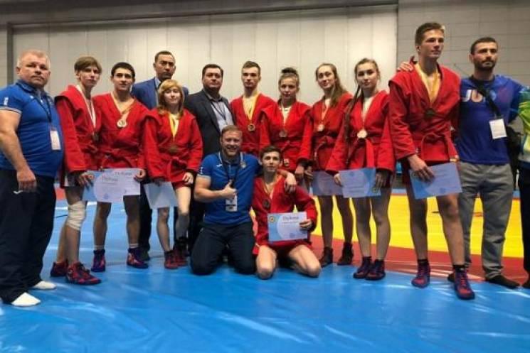 Харківські самбісти-юніори стали кращими на чемпіонаті Європи
