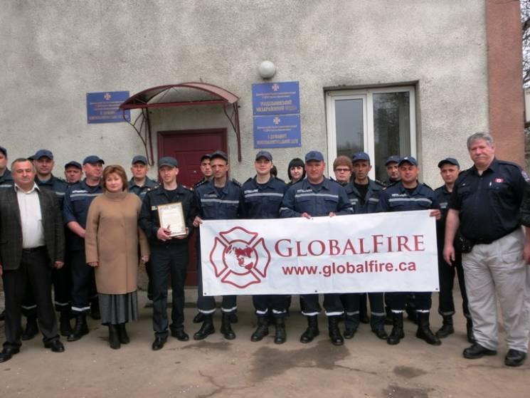 Рятувальники на Одещині отримали гуманітарну допомогу від канадських колег (ФОТО)