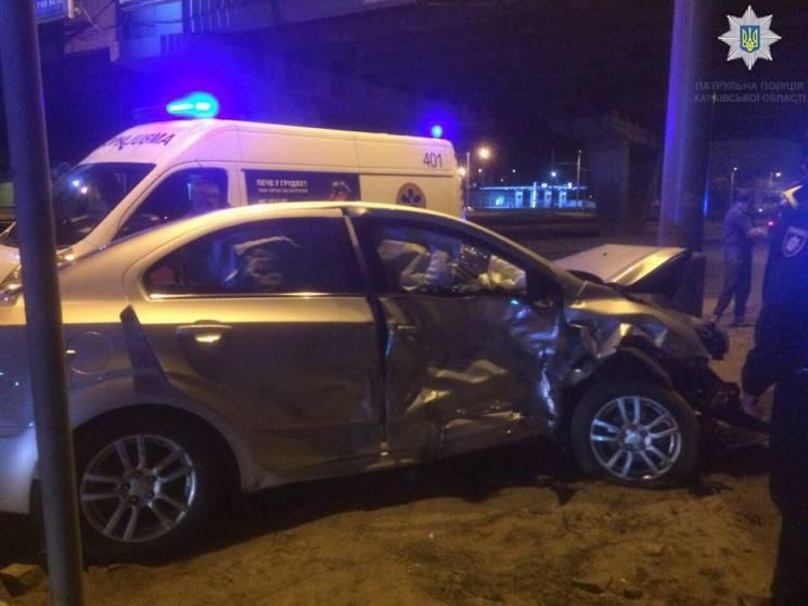 На проспекті у Харкові розбилися іномарки