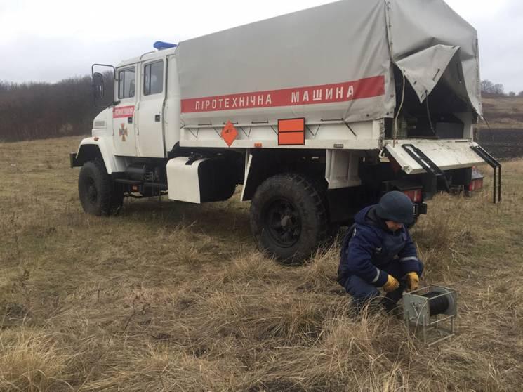 На Полтавщині сапери знищили авіабомбу