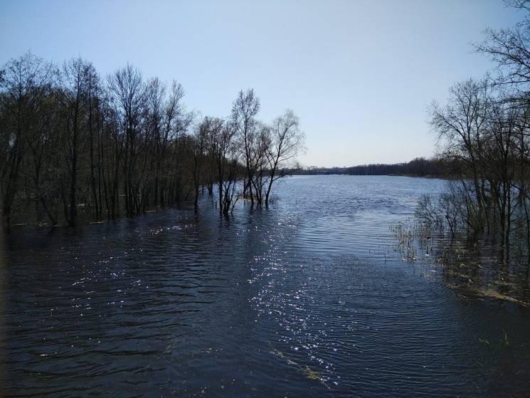 У річках Полтавщини подекуди почався спад рівнів води