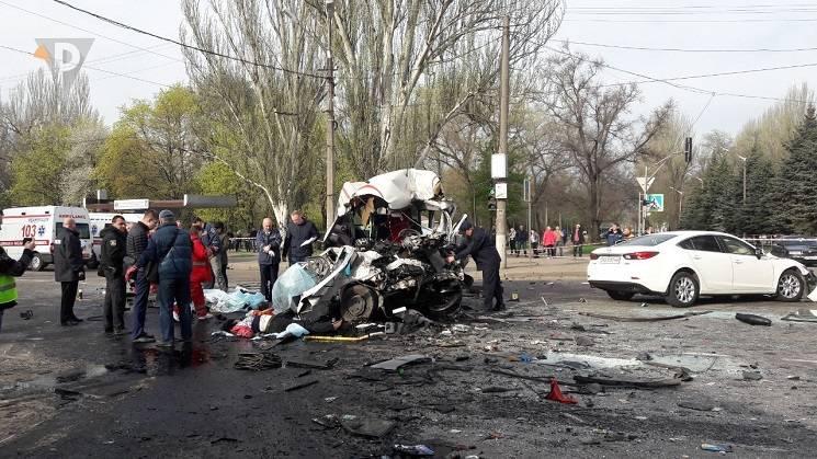 Більшість загиблих у страшній ДТП у Кривому Розі - пасажири маршрутки (ФОТО)