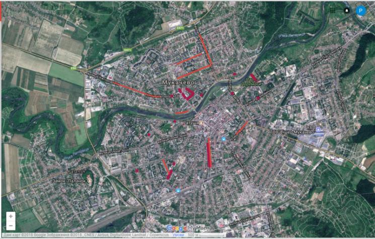 """Протистояння """"столиць"""": Мукачево також має карту сакур"""
