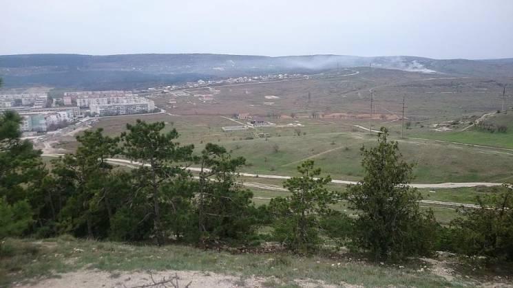 В окупованій Феодосії тліє звалище: МНСники не реагують