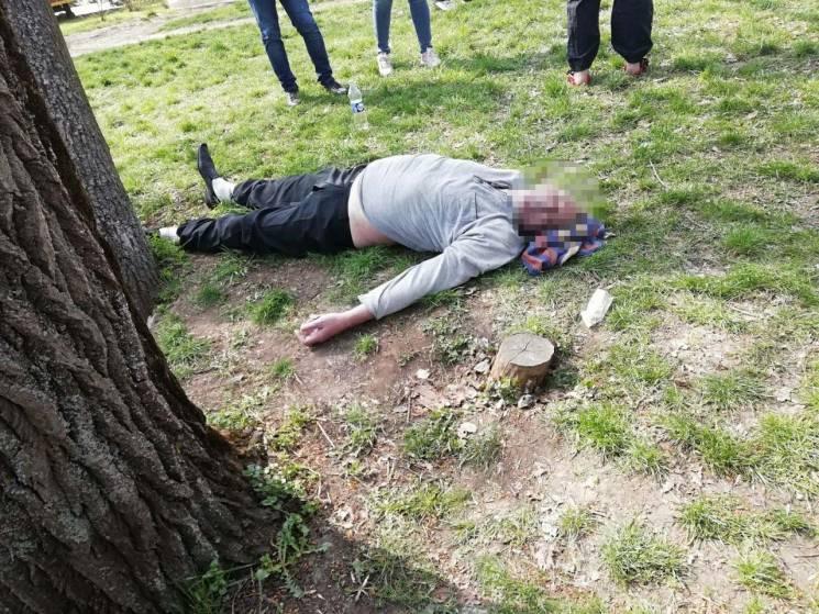 У Запоріжжі під час пікніку помер чоловік (ФОТО 18+)