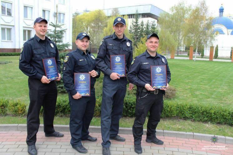 Хмельницьких патрульних відзначили за гарну роботу (ФОТО)