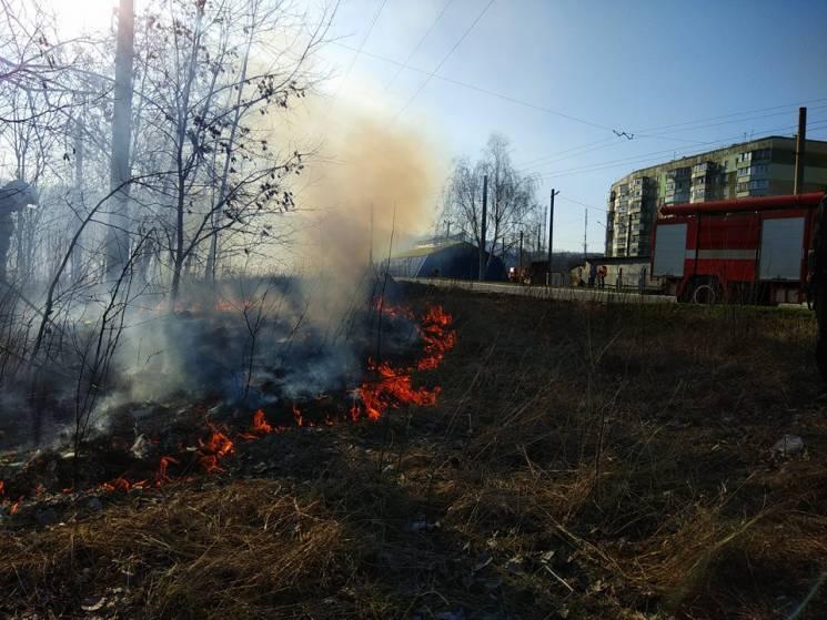 На Полтавщині оголосили попередження про високий рівень пожежної небезпеки