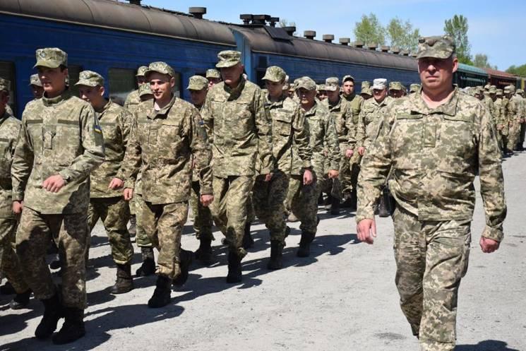 Подразделение тернопольских артиллеристо…