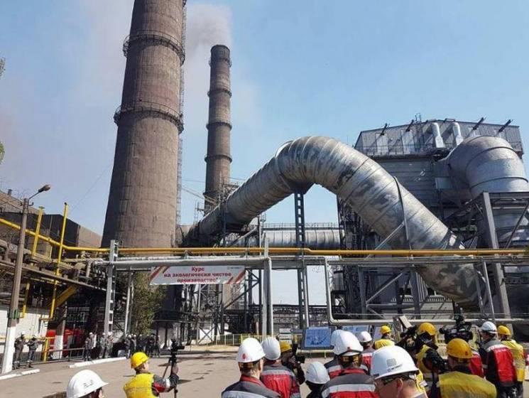 На ММКІ запрацювала перша черга нової системи газоочистки