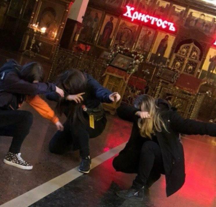 На России подростки танцевали и прикурив…