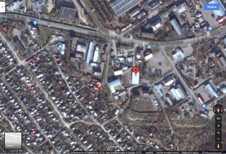 Украинские хакеры показали координаты базы оккупантов вЛуганске, где «много военной техники»