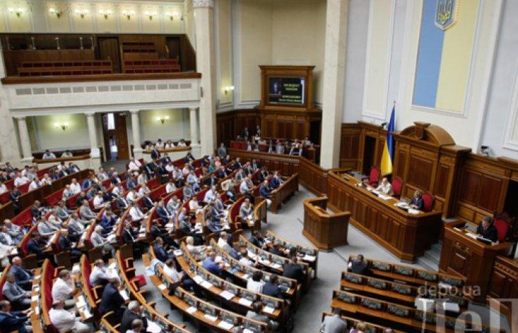 Нардепы отменили принятие закона о свободной экономической зоне Крыма