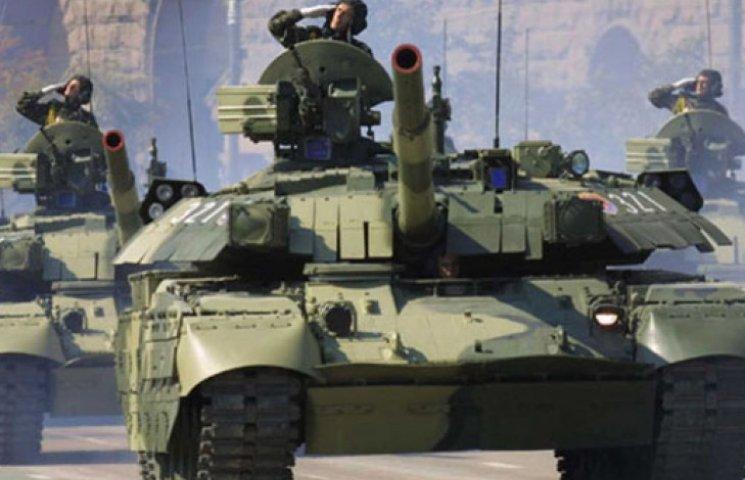 После парада 24 августа военная техника прямиком поедет на Донбасс